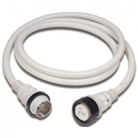 Marinco 50 Amp 125/250 V Shore Power Cord Plus 50 Foot White