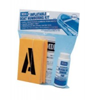 MDR Inflatable Boat Numbering Kit for Registration - Black