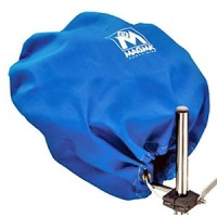 Magma Barbeque Cover Sunbrella Pacific Blue for Marine Kettle