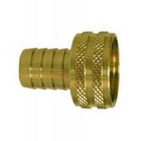 "Midland Garden Hose Fitting Brass - 5/8"" Hose X 3/4"" FPT"