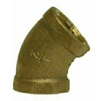 Midland Elbow 45 Degree Bronze - 1/8""