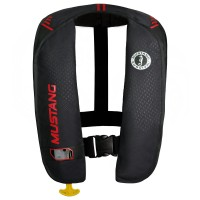 Mustang Inflatable Life Vest - Black/Red