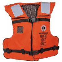 Mustang Work Vest Type III Life Vest - Adult Universal