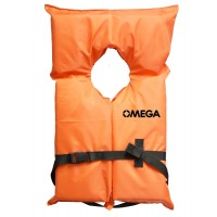 Omega Infant/Child Life Vest Type II - Orange
