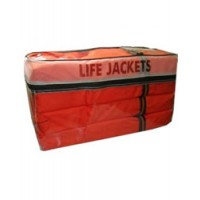 Omega Life Vest Combo Pack 6 Adult Vests & Storage Case