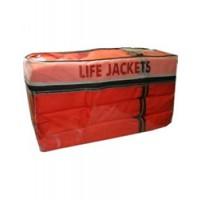 Omega Life Vest Combo Pack 4 Adult Vests & Storage Case