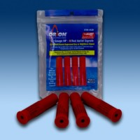 Orion Red Aerial Signal Flares for Gun - 4 Pack - 12 Gauge