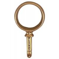 """Perko Rowlock Horn Round Type Plain Bronze 2-1/4"""""""