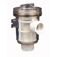 "Raritan Raw Water Strainer Plastic w/ 1-1/2"" NPT"