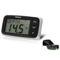Raymarine i40 Depth Display w/ Transom Mount Transducer