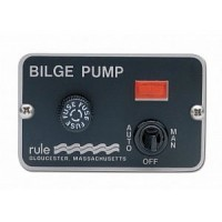 Rule 3-Way Panel Switch Automatic, Manual, Off 24-36 V