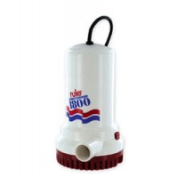 Rule Automatic Electric Bilge Pump 1800 GPH 110 Volt