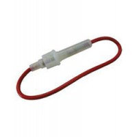 S & J Fuse Holder In-Line Holds AGC Fuses