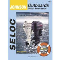 Seloc Engine Manual Johnson Outboards - 2002-2007