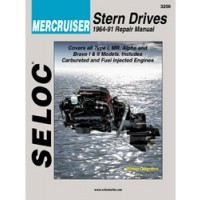 Seloc Engine Manual Mercruiser Stern Drive - 1964-1991
