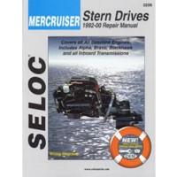 Seloc Engine Manual Mercruiser Stern Drive - 1992-2001