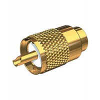 Shakespeare Antenna Connector Gold for RG8U Cable