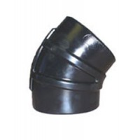 """Shields Hump Hose Connector 45 Degree Elbow - 3"""""""