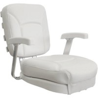 Springfield Ladder Back Helm Seat - Off White