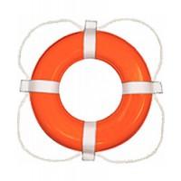 "Taylor Ring Buoy Orange 30"" Dia Life Saver Type IV"