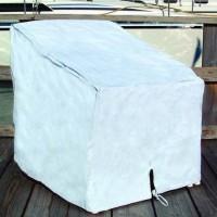 Taylor Deck Chair Cover Heavy Duty White Vinyl
