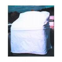 Taylor Center Console Cover Heavy Duty White Vinyl
