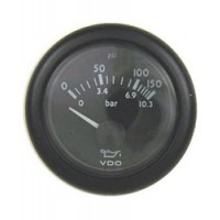 VDO Oil Pressure Gauge VDO Style 150 psi / 10 bar