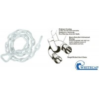 "Whitecap Anchor Chain Vinyl Coated 1/4"" x 6'"